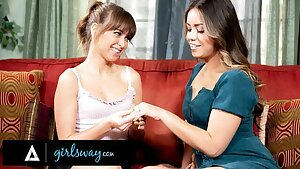 GIRLSWAY – Riley Reid And Alina Lopez Show Their Tongue Abilities