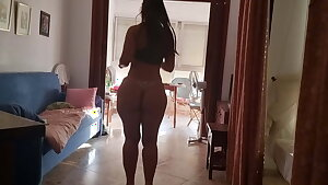 Teenager railing with massive ass