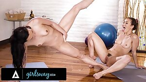 GIRLSWAY – Whitney Wright Is A Squirting Yoga Class Expert