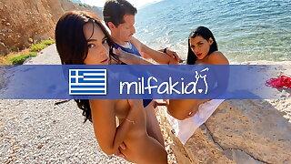 SHARING: Hot Threesome fuck with 2 naughty sluts! MILFAKIA.com
