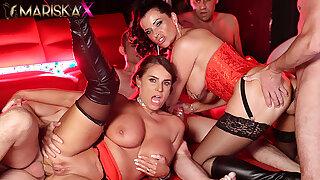 MARISKAX – Dacada and Super-sexy Susi take on five guys