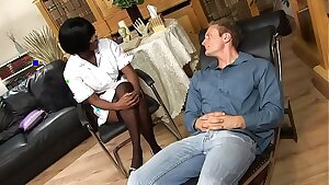 Psychiatric Nurse Jasmine Webb Gives Scorching Buttfuck Relief To Horny Patient