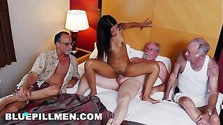 Staycation with a Brazilian Hottie Named Nikki Kay on BluePillMen (bpm15078)