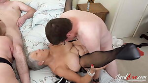 AgedLovE, Two Matures Are Enjoying Firm Fast Fuck