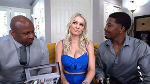 Big Ass, Kenzie Taylor Wants Anal With Big Black Cocks