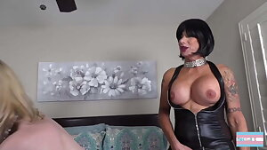 Sissy Gets Used By Dominant Duo
