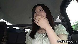 JAVHUB Cute Japanese female Madoka Araki gets creampied