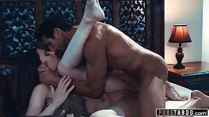 PURE TABOO Stepmom Evil-smelling Teen with Step-Uncle & Joins In
