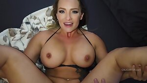 Cali Carter anal - Point of view anal homemade scene