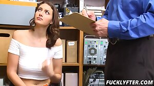 Bella Rolland In Case No 8708145 - MILF searched nude & fucked by police officer