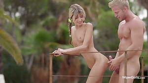 WOWGIRLS, Gina Gerson Pampered with Unbelievable Foreplay