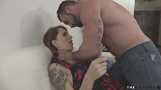 Throatfucking trans stepsister after escort confession