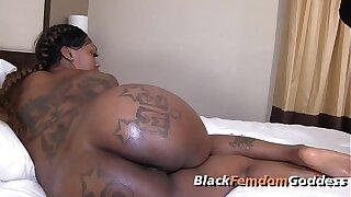 Royalty Mrsfeedme, Gemini Lovell, femdom, fetish, interracial