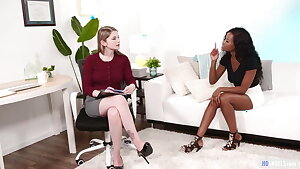 Big-titted Interracial Lesbians Bunny Colby and Jezabel Vessir