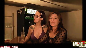 Sweetsusinrw: Lesbian games in the swinger club