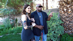 Blind Black Man Practices Anal Bang-out With Vanessa Vega