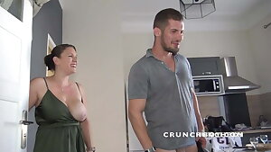 real sexy french straight pummeled a twunk fag  by surprise of