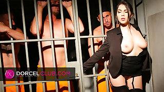 Valentina Nappi, the sexy prison director