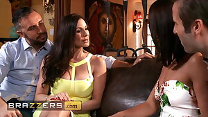 Bonny Girls Adriana Chechik and Kendra Lust Share A Huge Dick