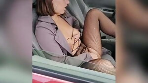 I joined a hot Milf in her car