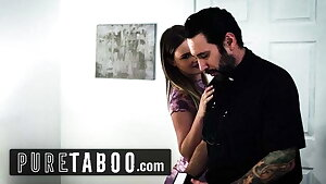 Unspoiled TABOO – Eliza Eves Entices Priest During Intervention