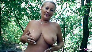 Curvy 73yr old Granny, Point of view Scandal Sex on way home with Young Guy