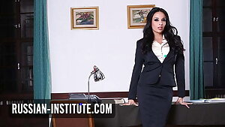 Big-boobed big tits teacher Anissa Kate needs anal sex