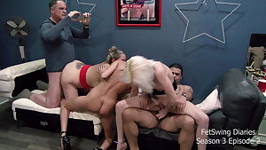 FETSWING DIARIES - S3 E2 C2 - Amateur Swinger Wife Swapping
