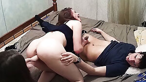 Best Teenage Friends Threesome, Ffm Bisex, Hot Meet Action