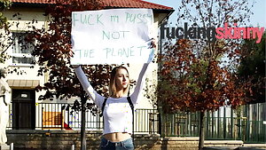 Fuck my Pussy, Not the Planet!