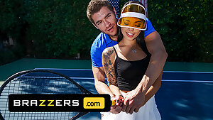 Xander Corvus Massages Gina Valentina's Foot To Ease Her Ache